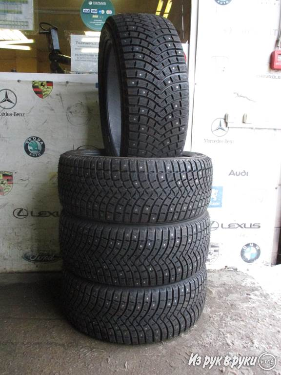 Шины 275 45 21 110T Michelin Latitude X-Ice North 2 +