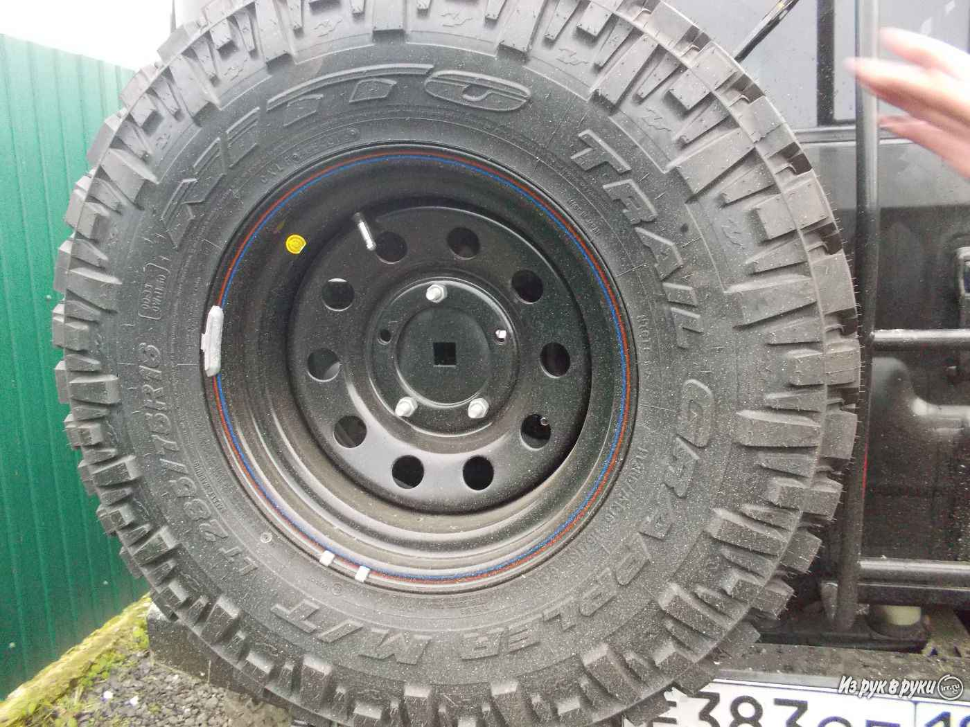 Колеса Rjktcf Trail Grappler M/T