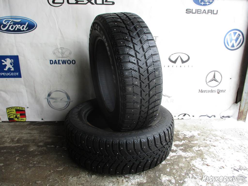 Шины 215 60 16 95T Bridgestone Ice cruiser 5000